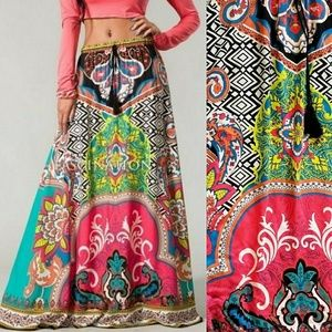 Psychedelic Skirt XS